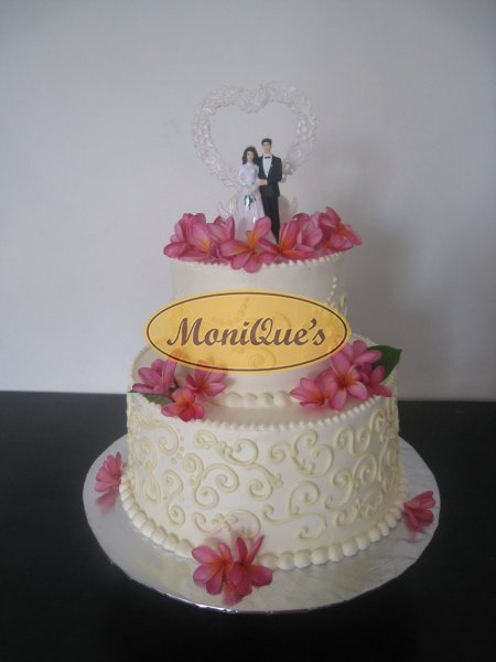 2 tiers wedding cakes bali wedding cake picture 078 junglespirit Image collections